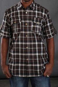 Billionaire Mafia Legend Baby Face Short Sleeve Button Down Shirt