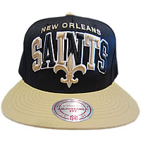 Mitchell And Ness New Orleans Saints Snap Back